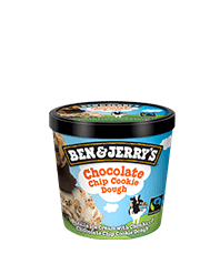 Chocolate Chip Cookie Dough Original Ice Cream Mini Cup